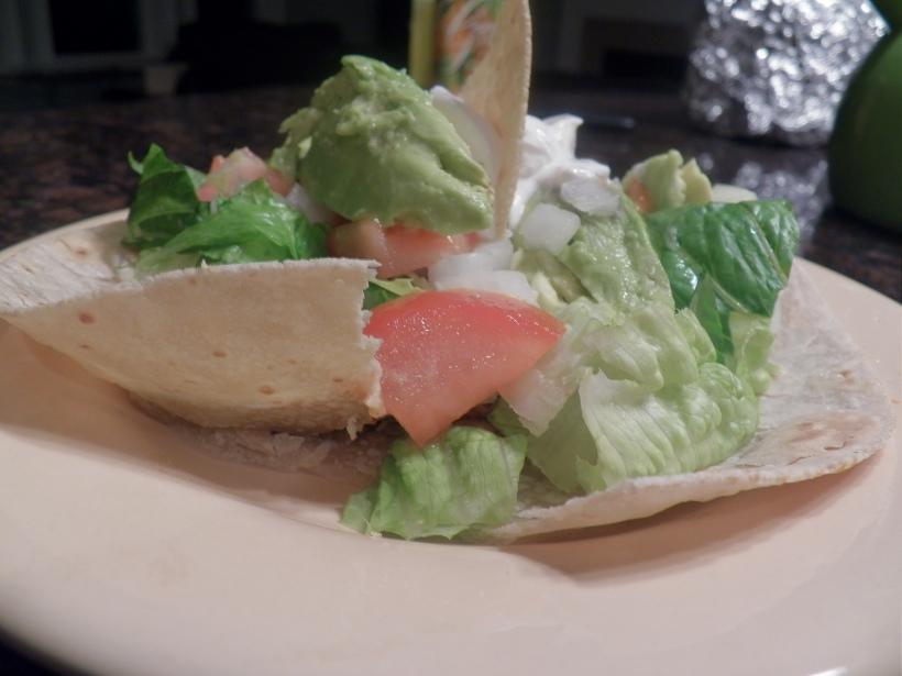 veggies tacos