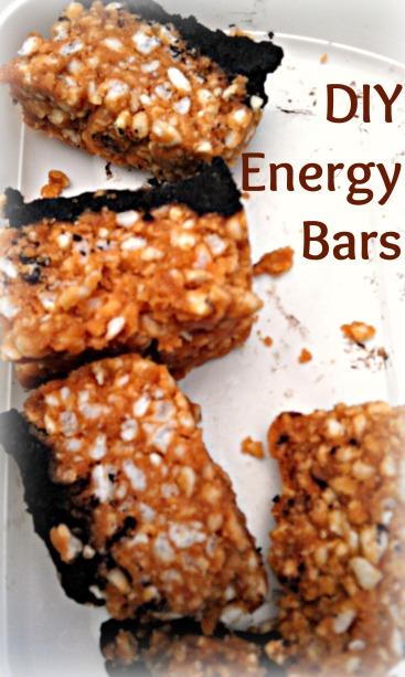 DIY Energy Bars Captioned