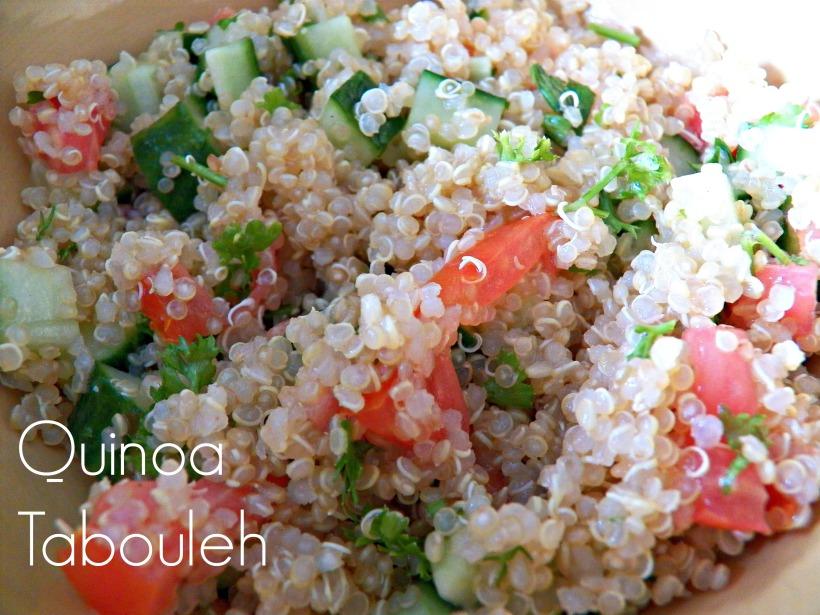Quinoa Tabouleh Captioned