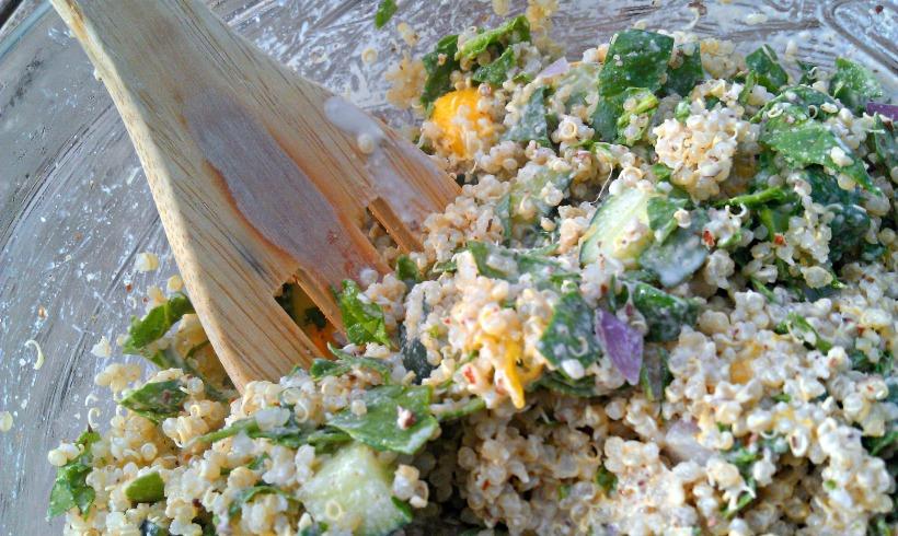 Mango Buddha Bowl 2 Close-Up