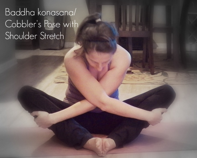 baddha konasana shoulder stretch