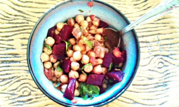 Chickpea Beet Bowl
