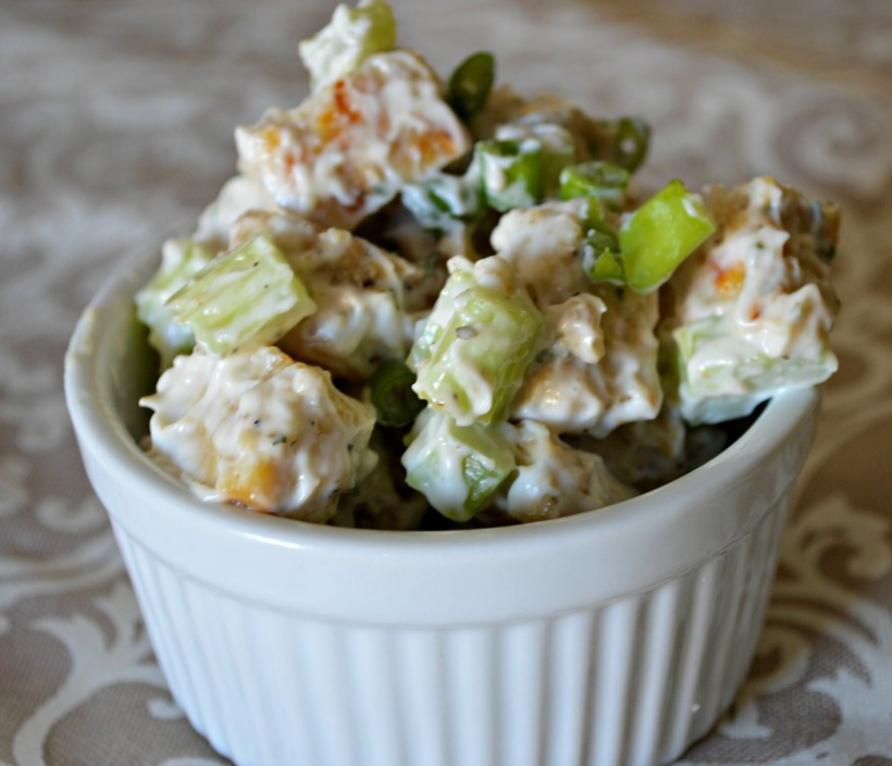 Tempeh Chicken Salad