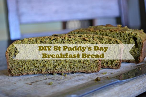 DIY St Paddy's Day Bread